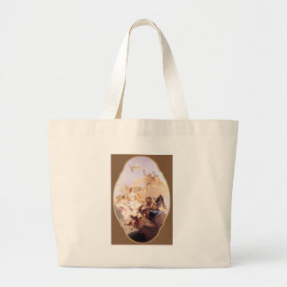 An Allegory with Venus and Time Giovanni Battista Large Tote Bag