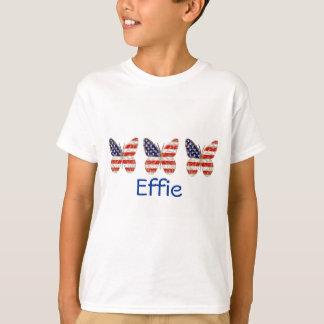 An American Butterfly kids t-shirt