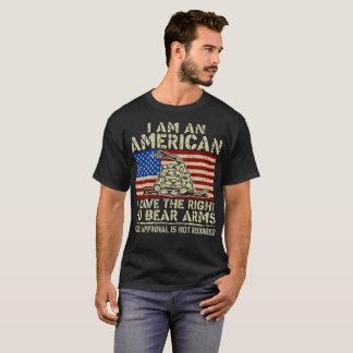 An American Have Right Bear Arms Veteran Tshirt