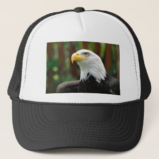 An American Patriot United States Bald Eagle Image Trucker Hat