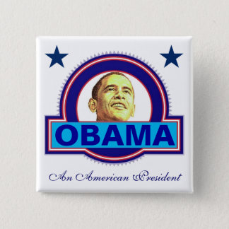 An American President 2 Inch Square Button