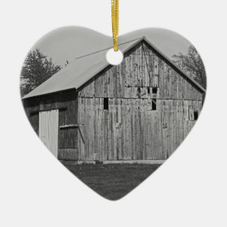 An American Requiem Ceramic Heart Ornament