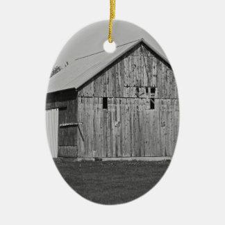 An American Requiem Ceramic Oval Ornament