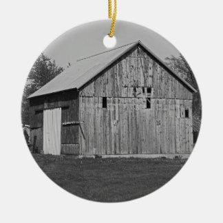 An American Requiem Round Ceramic Ornament