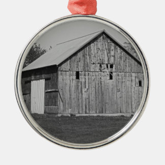 An American Requiem Silver-Colored Round Ornament