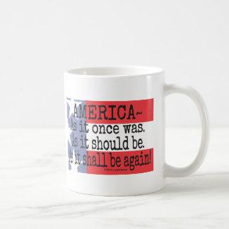 """An American Toast"" Coffee Mug"