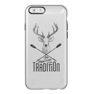 An American Tradition: Deer Head Wood Bow Hunting Incipio Feather® Shine iPhone 6 Case