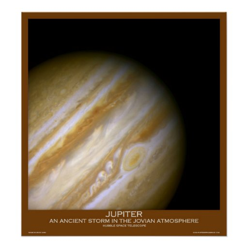 An Ancient Storm in the Jovian Atmosphere -JUPITER Poster