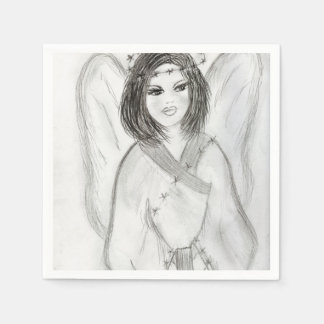 An Angel Disposable Napkin