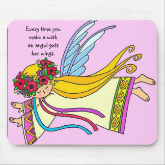 An Angel Gets Her Wings Mouse Pad