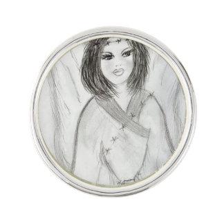 An Angel Lapel Pin