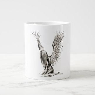An Angel Large Coffee Mug