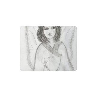 An Angel Pocket Moleskine Notebook