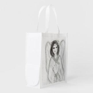 An Angel Reusable Grocery Bag