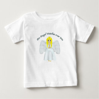 An Angel Watches Over Me Baby T-Shirt