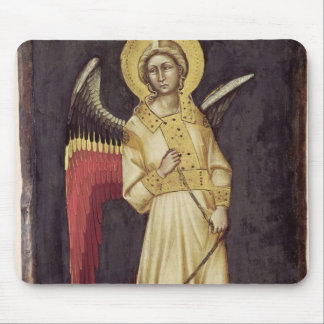 An Angel with a Demon on a Chain Mouse Pad