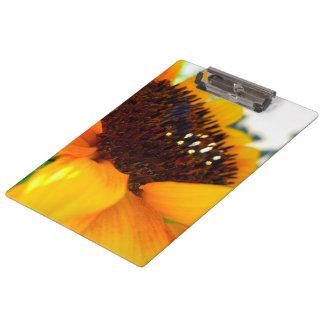 An Angled Sunflower Clipboard