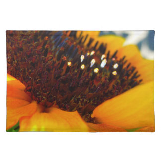An Angled Sunflower Placemats