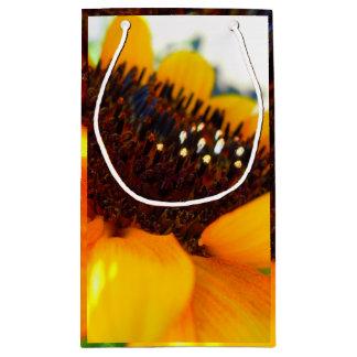 An Angled Sunflower Small Gift Bag