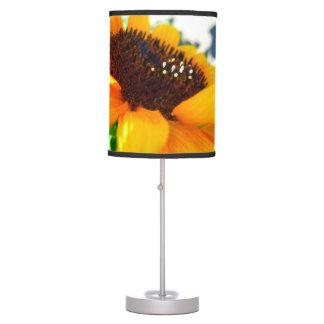 An Angled Sunflower Table Lamp