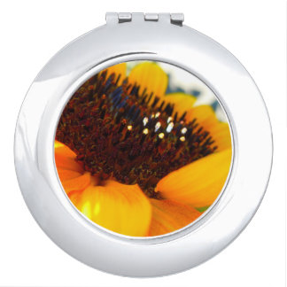An Angled Sunflower Travel Mirrors