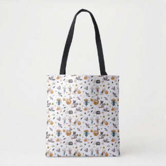 An Animal's Halloween Tote Bag