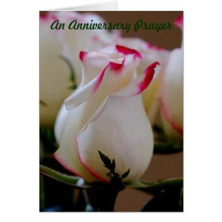 An Anniversary Prayer Card
