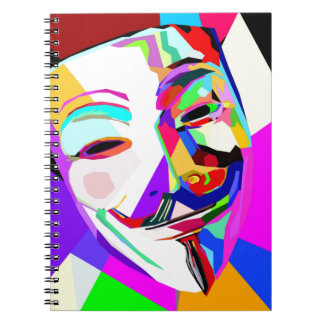 An Anonymous Rainbow Notebook