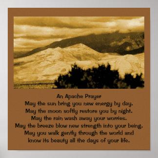 An Apache prayer Poster