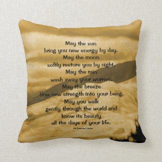 An Apache prayer Throw Pillow