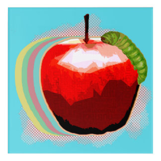 An Apple a Day Acrylic Wall Art