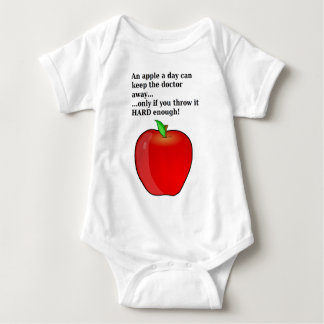 An Apple a Day... Baby Bodysuit