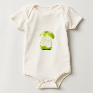 An apple a day keeps the doctor away baby bodysuit