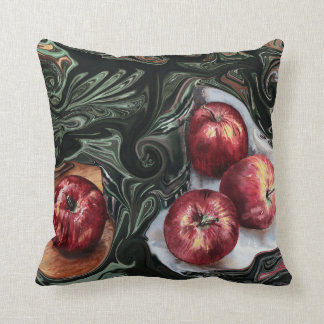 An Apple A Day. Throw Pillow