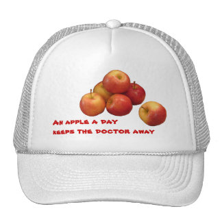 An Apple a Day Trucker Hat