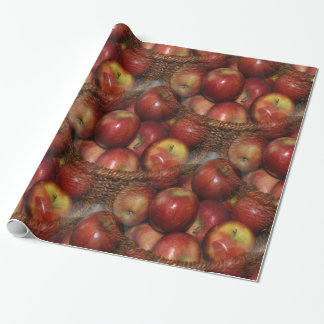 An apple a day... wrapping paper