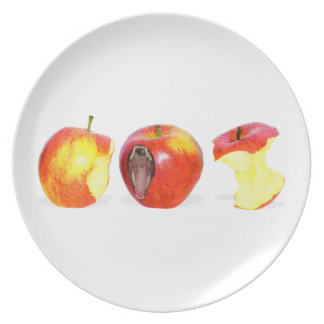 An Apple Eating Apple Plate