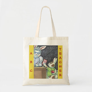 An Apple For The Teacher BUDGET TOTE Customize