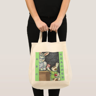 An Apple For The Teacher GROCERY TOTE Customize