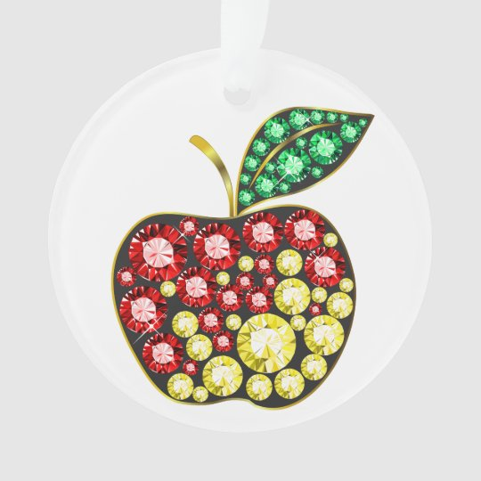 An Apple for the Teacher - Ornament - SRF