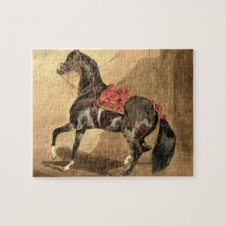 An Arabian Horse (w/c laid down on paper) Puzzle