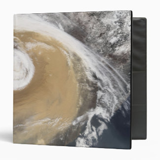 An Asian dust storm crosses the Pacific Vinyl Binders