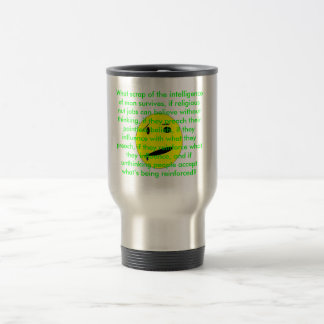 An Atheist's Concern Travel Mug