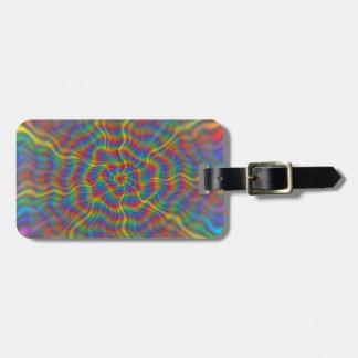 An Atomic Rainbow Bag Tag