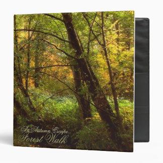An autumn escape binders