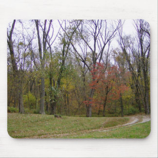 An Autumn Hike Mouse Pad
