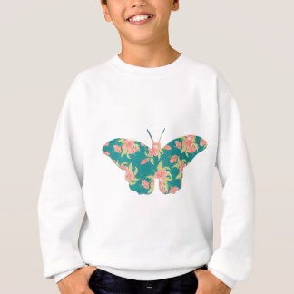 an awesome vintage butterfly sweatshirt