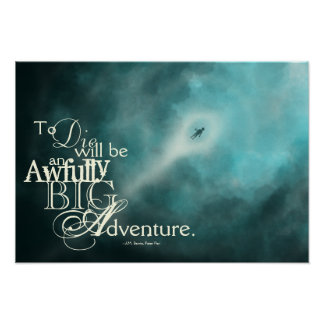 An Awfully Big Adventure Poster