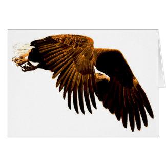 An Eagle Soaring Greeting Card