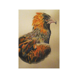 An eagles gaze canvas print